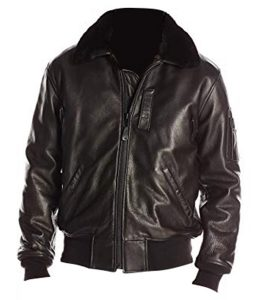 B-15 Bomber Black Jacket