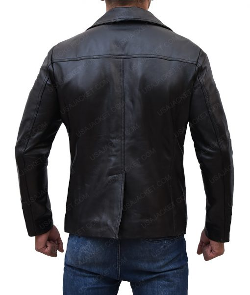 Sam Tyler Black Leather Jacket