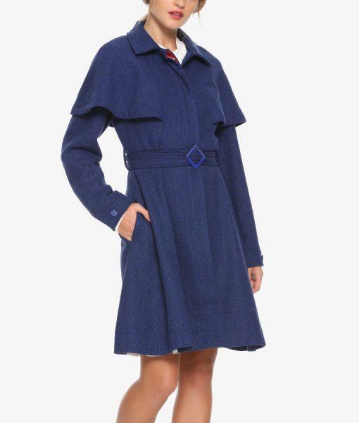 Blue Mary Poppins Coat
