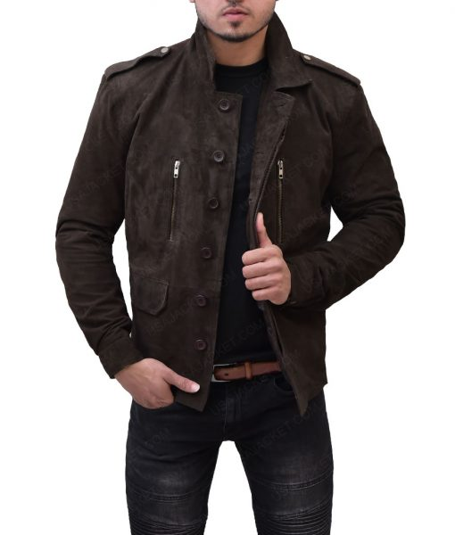 Christian Grey Fifty Shades Leather Jacket
