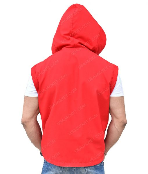 Creed II Adonis Johnson Michael B. Jordan Red Hooded Vest