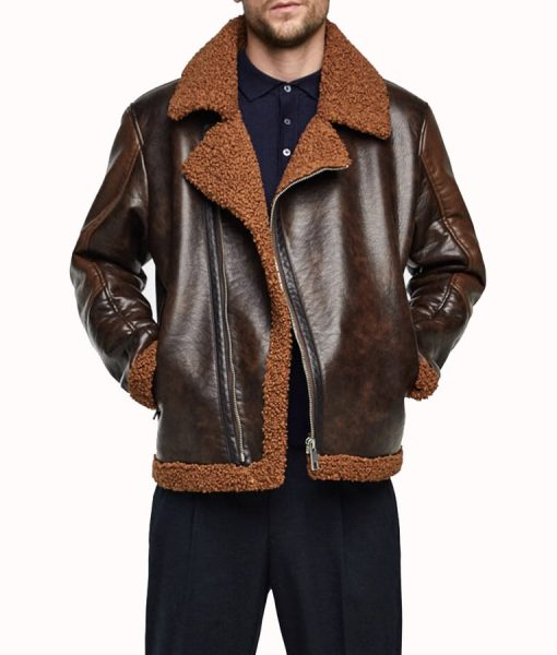 Dean Ambrose Shearling Jacket