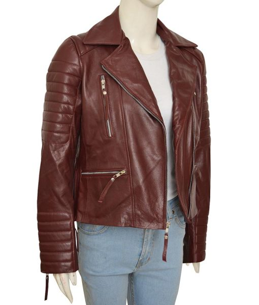 Brooklyn 99 Padded Leather Jacket