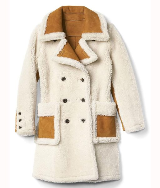 Double Breasted Aviator Coat