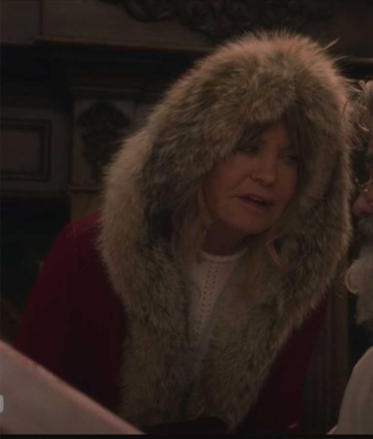 Christmas Chronicles Mrs Claus.The Christmas Chronicles Goldie Hawn Hooded Parka