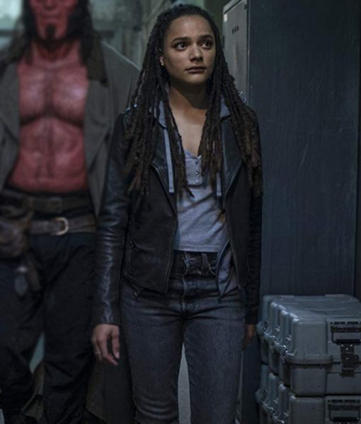 Hellboy Alice Monaghan Leather Jacket