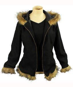 Izaya Orihara Black Parka Jacket