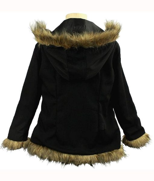 Izaya Orihara Black Hooded Jacket