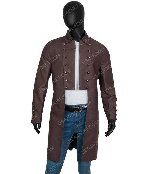 Outlander Sam Heughan Cotton Coat