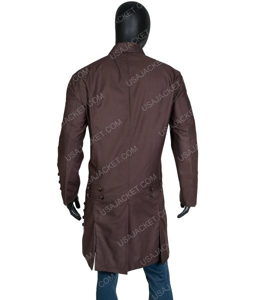 Jamie Frasers Outlander Sam Heughan Cotton Coat