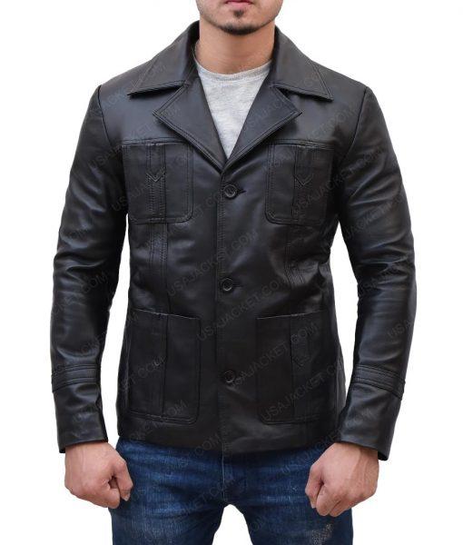 John Simm Leather Jacket