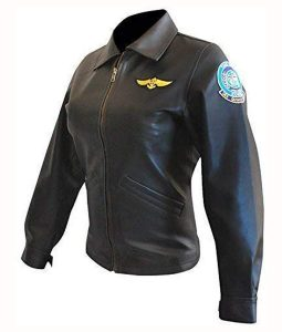 Top Gun Charlie Leather Jacket