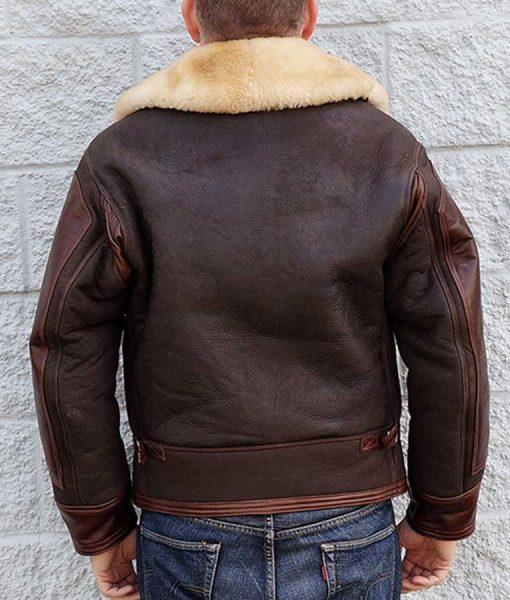 AN-J-4 Shearling jacket