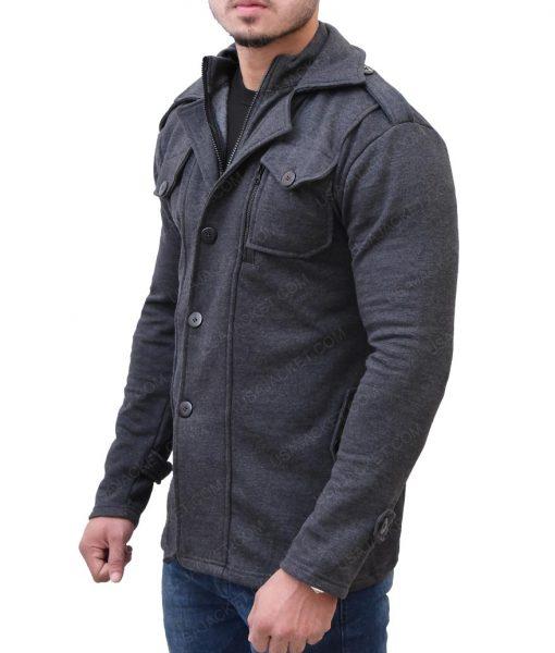 Mens Casual Wool Jacket