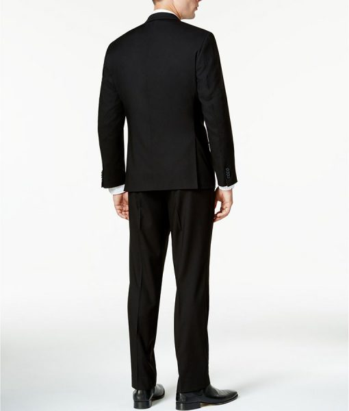 Black Slimfit-Suit