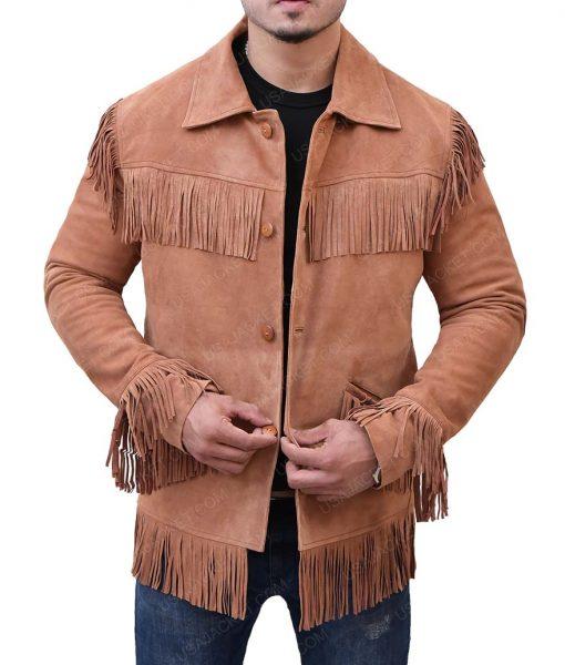 Midnight Cowboy Joe Buck Fringe Jacket