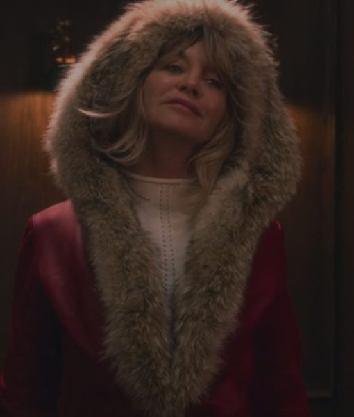 Goldie Hawn Shearling Parka