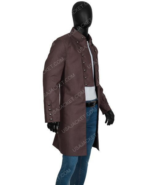 Jamie Frasers Outlander Sam Heughan Cotton Tailcoat