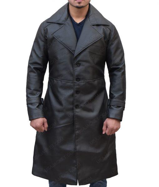 Resident Evil 5 Albert Wesker Leather Coat