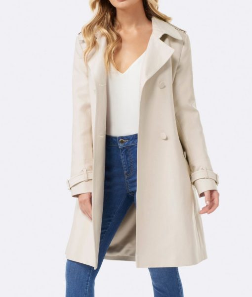 Betty's Cream Long Coat