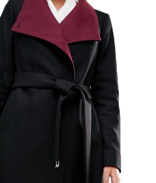 hermione Black Coat