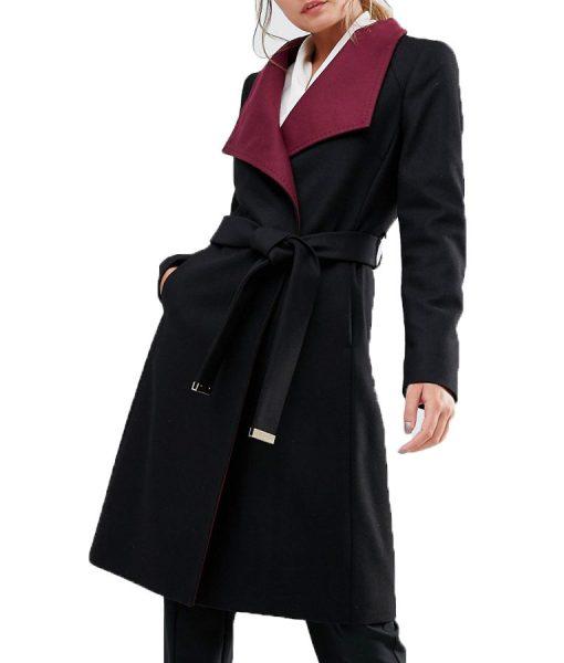 Riverdale Hermione Black Long Jacket