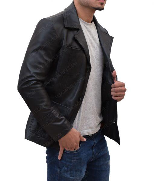 Life On Mars Sam Tyler Black Leather Jacket