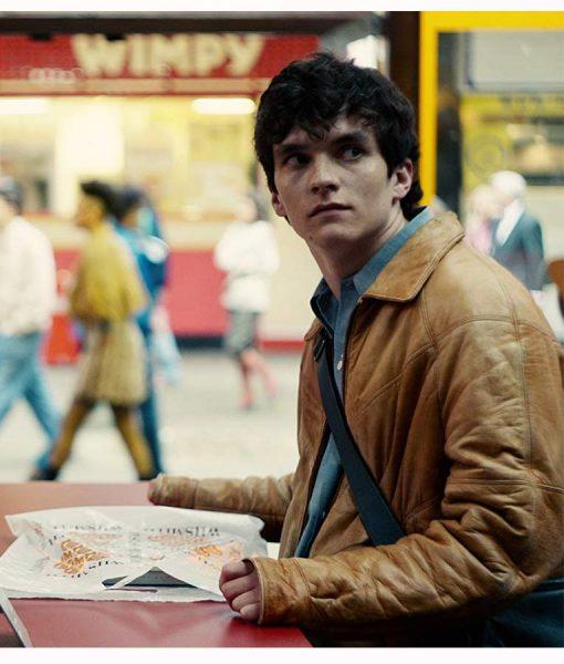 Stefan Black Mirror Jacket