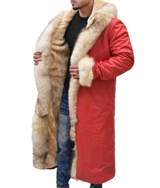 Santa Claus Kurt Russell Trench Coat