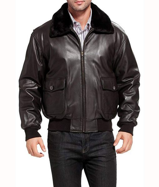 U.s Navy G-1 Aviator Jacket