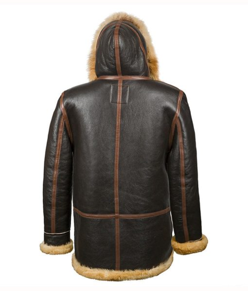 b7 Shearling Leather Parker