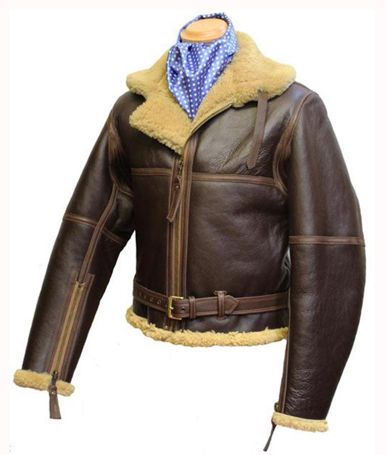 8dbafda3b WW2 RAF Sheepskin Leather Jacket