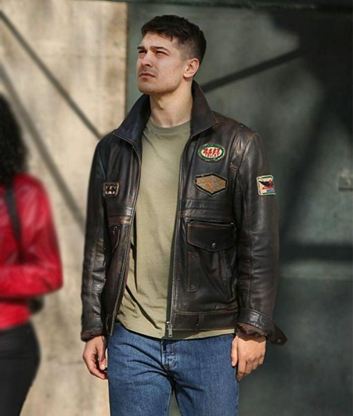 Çagatay Ulusoy Brown jacket