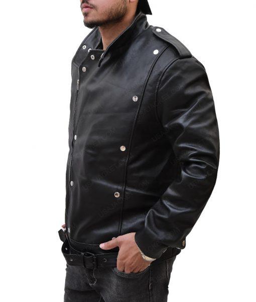 ason Momoa Aquaman Motorcycle Leather Jacket