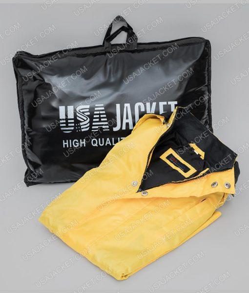 Jonas Kahnwald Yellow Coat BrandShoot