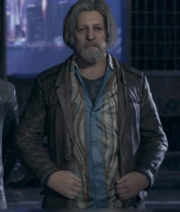 Hank Anderson Leather Jacket