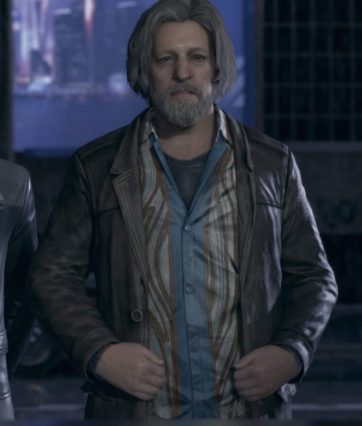 Detroit Become Human Hank Jacket