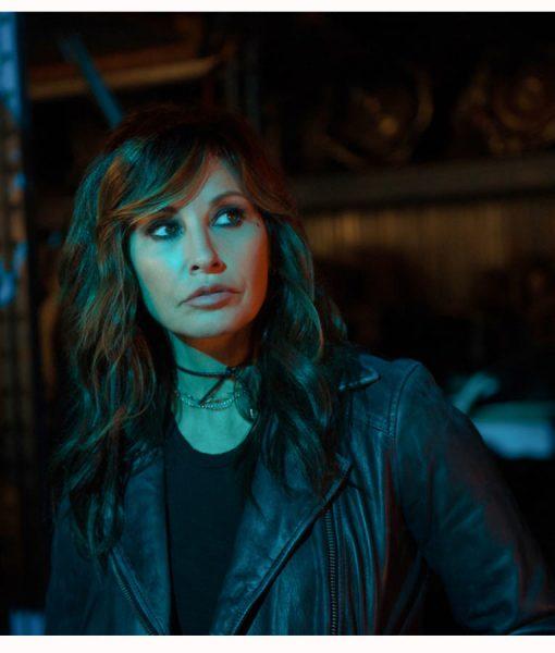 Gina Black Motorcycle jacket