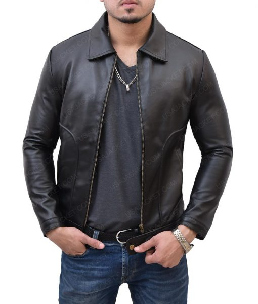 James Franco Freaks and Geeks Daniel Desario Black Leather Jacket