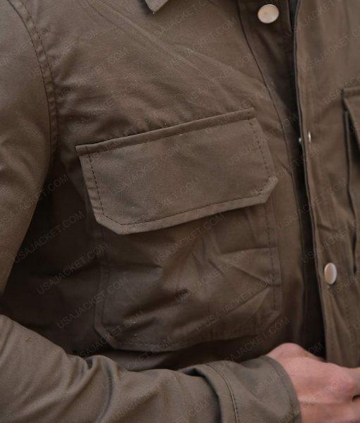 Harrison Ford Blade Runner 2049 Cotton Green Rick Deckard Shirt