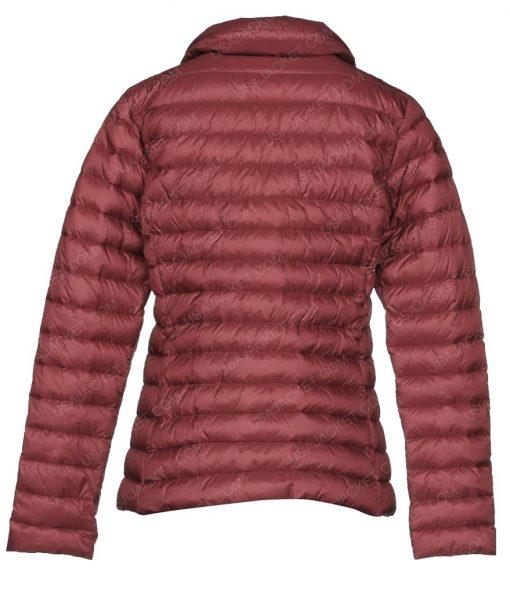 Malorie Netflix Bird Box Sandra Bullock Red Puffer Jacket