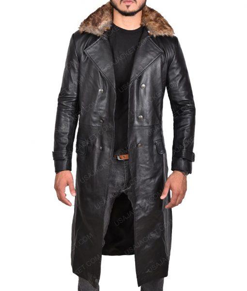 Shazam Dr Thaddeus Sivana Black Coat