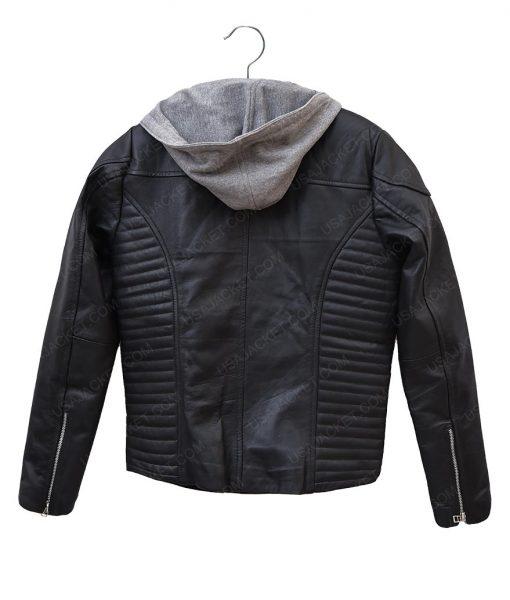 The Space Between Us Britt Robertson Biker Leather Jacket