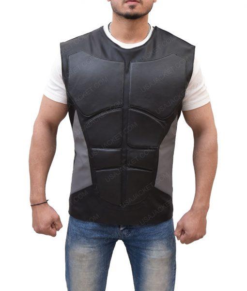Seth Rollins Slimfit Leather Vest