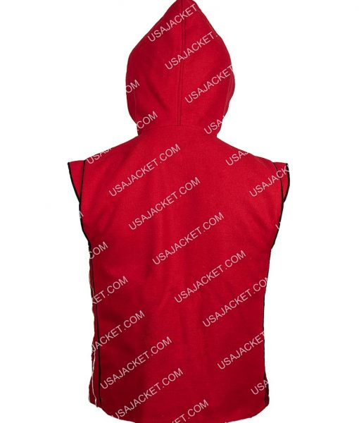 Aladdin Mena Massoud Red Cotton Vest
