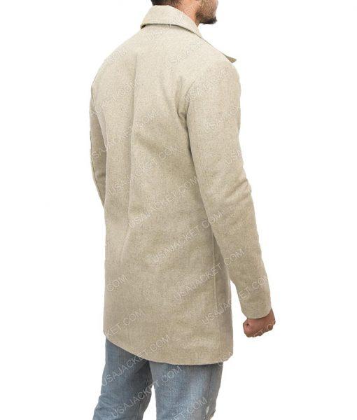 Albert Hill Snatch Luke Pasqualino Grey Wool Coat