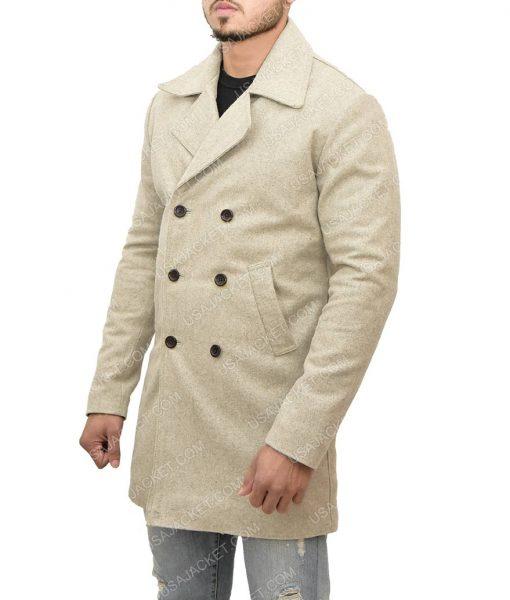 Albert Hill Snatch Luke Pasqualino Wool Coat