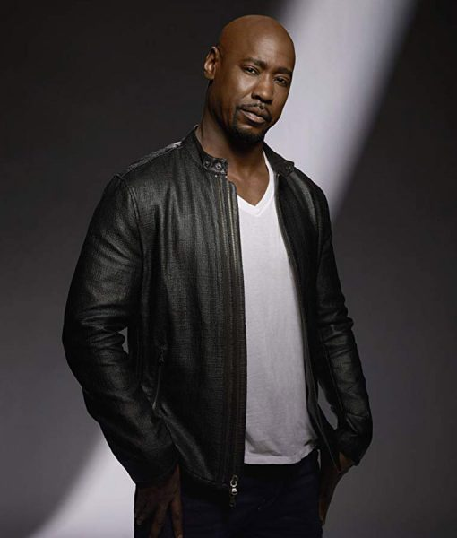 Amenadiel Black Cafe Racer Jacket
