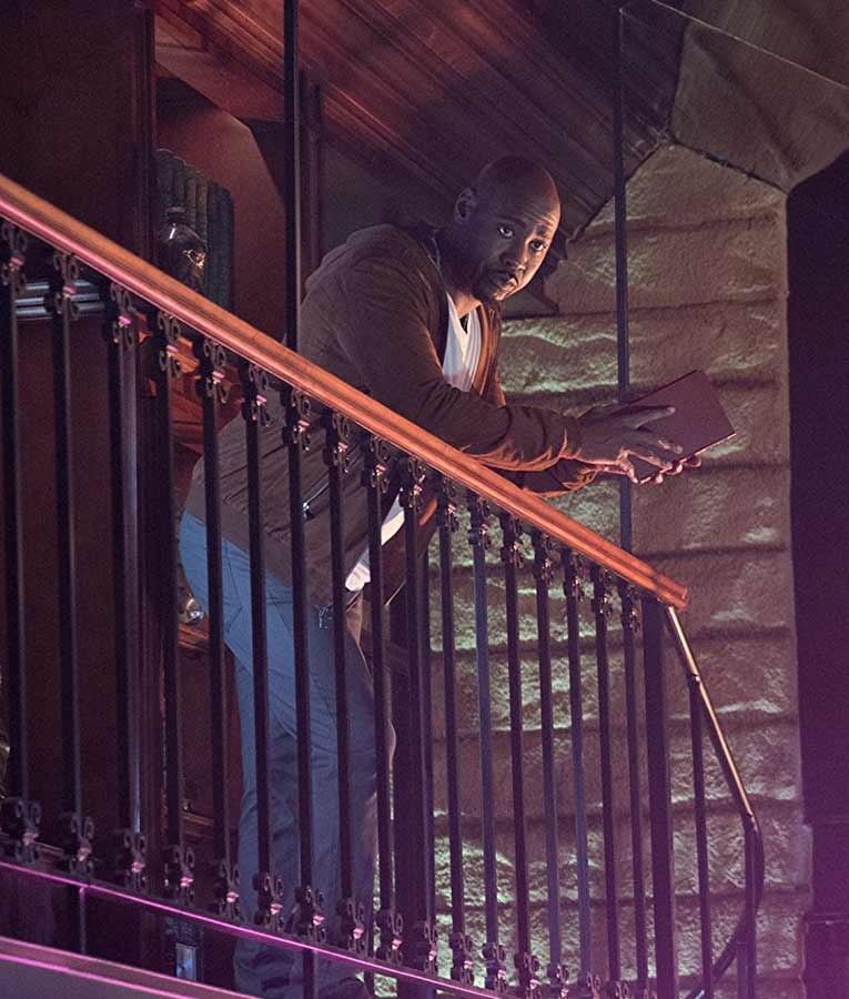 Amenadiel Hooded Jacket On TV-Series Lucifer Season 03