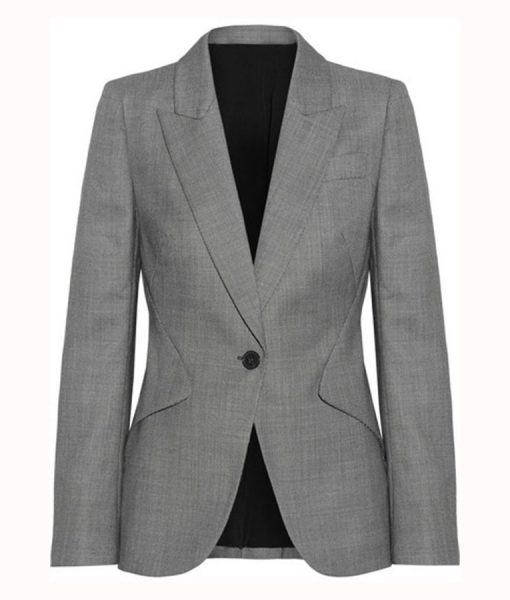 Viola Davis Grey Blazer